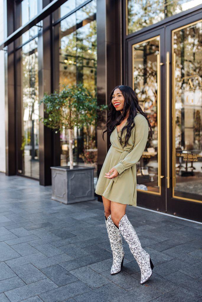 snakeskin boot trend, steph taylor jackson, dallas fashion blogger